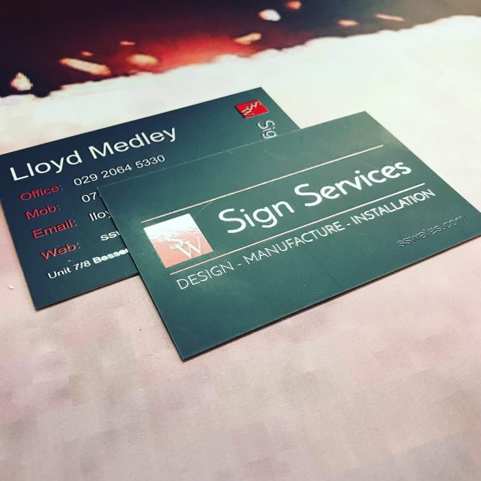 Business Card Printing by Sign Services - Sign Services | Sign ...