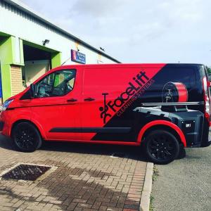 Facelift Digital Print Vehicle Wrap Cardiff